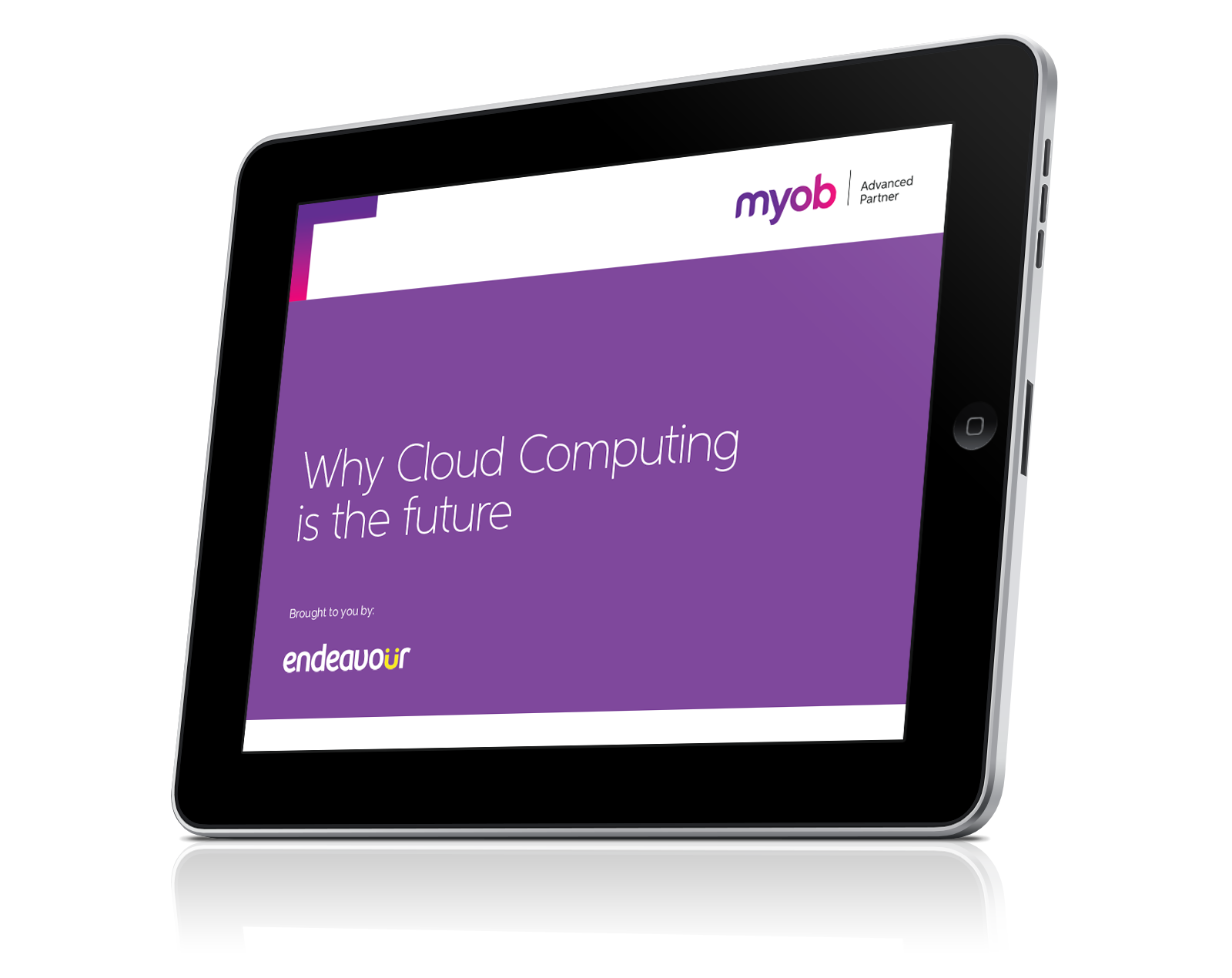 3Dcover_EndeavourAU_MYOB_Why Cloud Computing is the Future